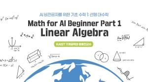 AI 비전공자를 위한 기초 수학 1 : 선형대수학